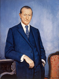 Portrait of Kurt Waldheim