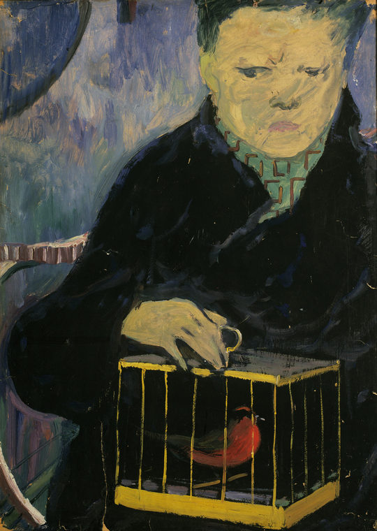 Boy with a Bird