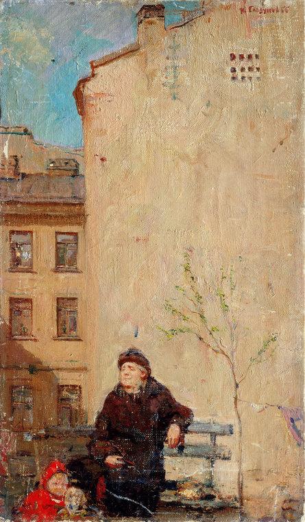 Spring in Leningrad