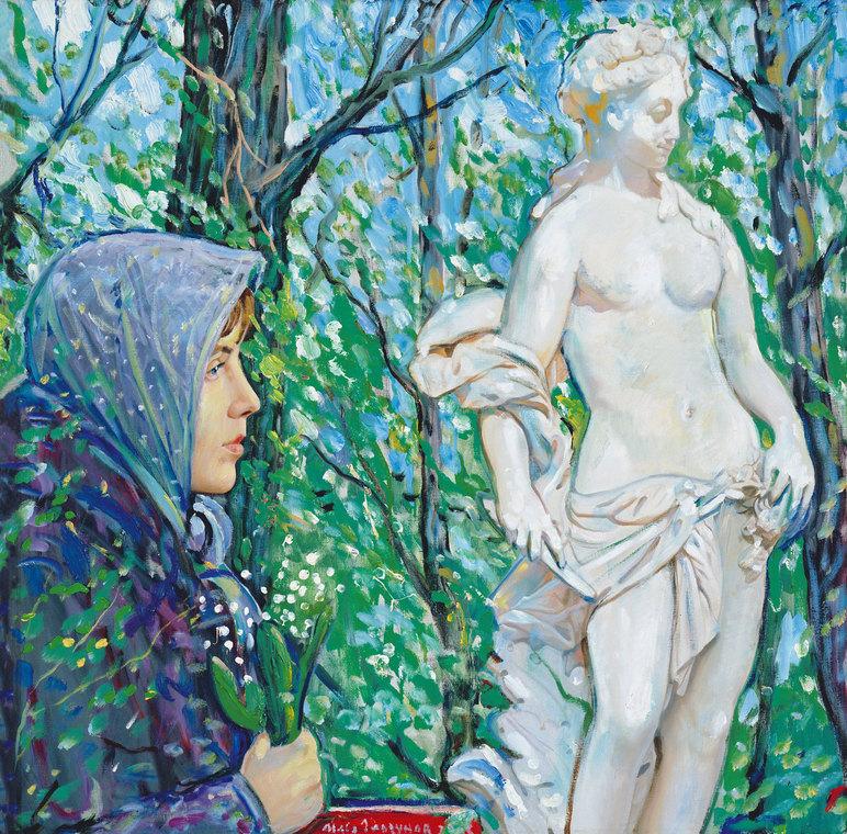 """The triptych """"My Summer Garden"""""""