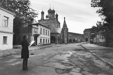 Илья Глазунов в Крутицком подворье. Москва