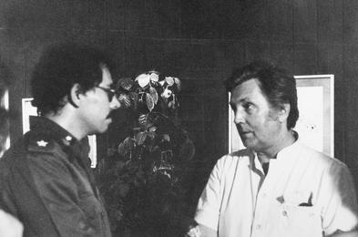 Ilya Glazunov with Daniel Ortega. Nicaragua
