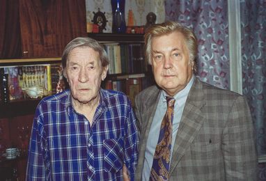 The last direct descendant of the poet A.S. Pushkin, G.G. Pushkin and I.S. Glazunov. Moscow
