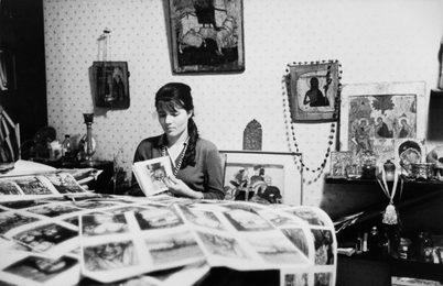 Nina Vinogradova-Benois.  Moscow