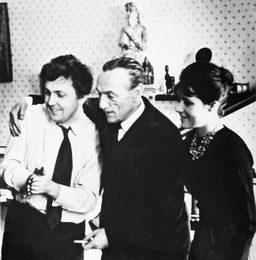 Эдуардо дэ Филиппо в гостях у Ильи Глазунова