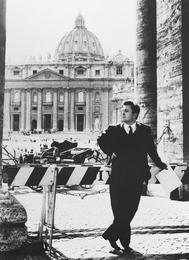 Илья Глазунов в Риме. Италия
